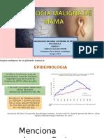 Patologías Malignas de La Glándula Mamaria