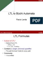 Ltl to Buechi Automata