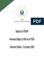 Uetd Forum 301008 Rapport