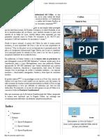 Callao - Wikipedia, La Enciclopedia Libre