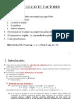 Mercado Laboral Comp. Perfecta e Imperfecta
