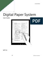 Sony - DPT - S1 - 2015 - User_Guide