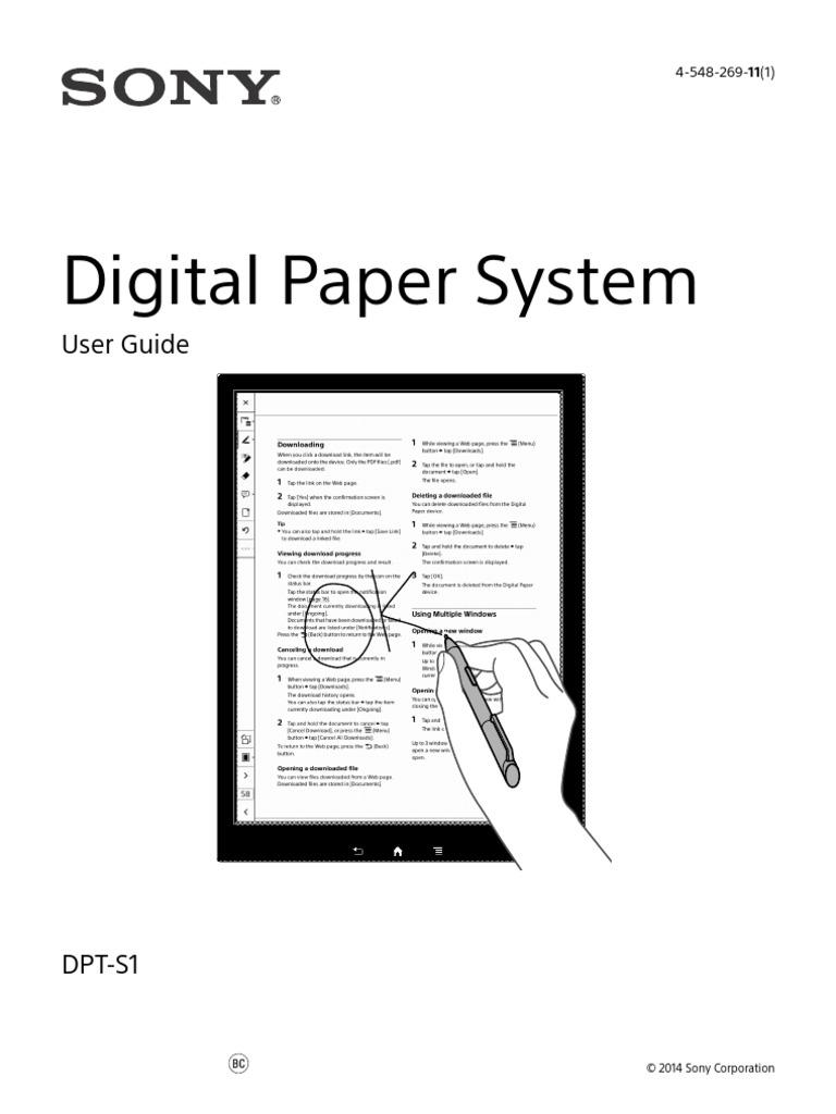 Digital Paper System: User Guide