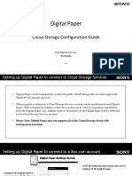 Sony - DPT - S1 - Digital_Paper_Cloud_Storage_Configuration_Guide