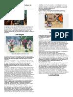 Tradiciones de Las Cuatro Culturas de Guatemala