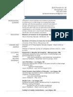 occt 652a - resume