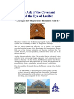 Ark of the Covenant and Eye of Lucifer