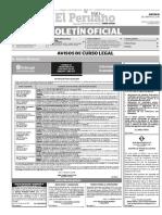 Diario Oficial El Peruano, Edición 9251. 25 de febrero de 2016