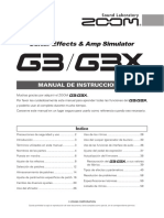 zoom g3/g3x manual