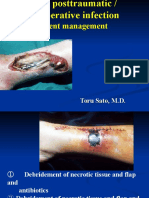Acute post traumatic & postoperative infection_present management.ppt