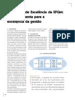 EFQM - o modelo de excelência