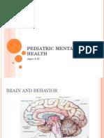 12-Pediatric Mental Health Ages 4-12