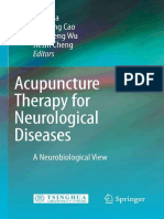 Acupuncture Therapy for Neurological Diseases - A Neurobiological View