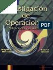 Investigacion de Operaciones, Aplicaciones y Algoritmos - W. Winston - 4ed