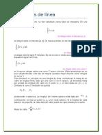 Integral de Linea y Teorema de Green