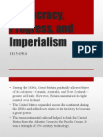 Democracy, Progress, and Imperialism