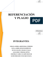 Referenciacion y Plagio