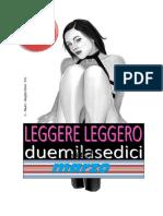 LEGGERE LEGGERO - Marzo 2016