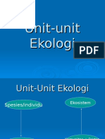 Unit Unit Ekologi