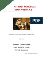 Biografi Nabi Yaqub as Dan Nabi Yusuf As