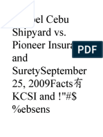 Keppel Cebu Shipyard Vs