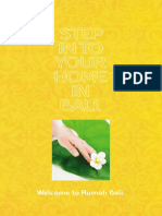 Puranik - Rumah Bali Main Brochure