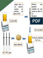 esquema saponificación