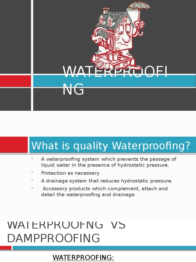 Waterproofing | Roof | Concrete