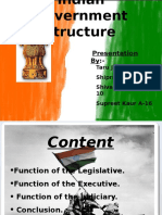 Indian Government Structure
