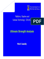 Ultimate Strength Analysis
