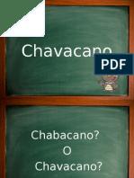 Chavacano