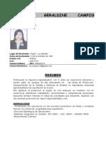C.V. Claudia Campos