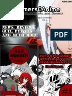 Gamers & Anime Magazine