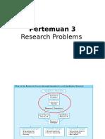 3. Metlit P.jarnawi Pertemuan Ke-3 (Masalah Dalam Riset)