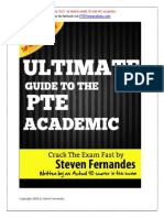 Ultimate Guide to the PTE Academic Sample