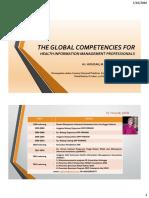 Kompetensi Global PMIK by Hosizah Usman