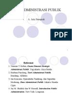 Ilmu Administrasi Publik PPT
