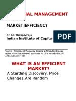 Financial Mgmt Market Efficiency Dec 9 2011