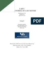 MAE576 GroupD LAB3 Report