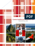 Cuenta Satelital de Turismo en El Peru