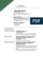 weejuns online resume
