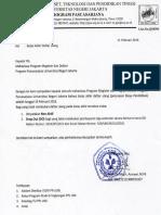 Surat Edaran Direktur Pps Unj