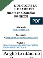 Hymne de Gloire du Peuple Bamileke (Ghomala).PDF