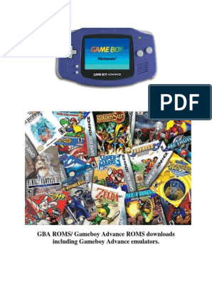 Gba Roms Gameboy Advance Roms Apk Miki Mario Harry Potter