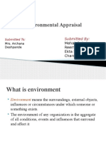 Chapter3 Environmental Appraisal SM
