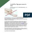 Dolor Planta Del Pie, Tips Para Curar La Fascitis Plantar