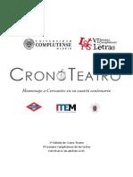 Convocatoria CronoTeatro 2016