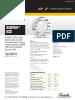 Sigma 533 Datasheet 1