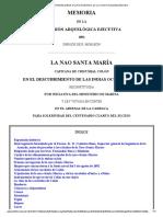 The Project Gutenberg eBook of La Nao Santa María, Por La Comisión Arquelógica Ejecutiva