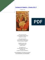 Abraham -Teofanía de Mambré -Gn 8,1-5